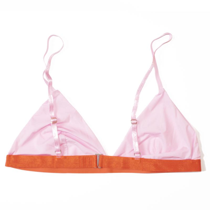bra thezoo pink flamingo rosa orange