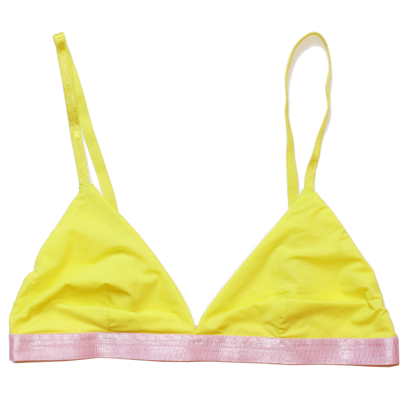 super light thezoo bra sun powder yellow