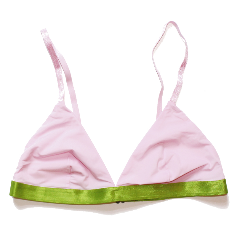 bra thezoo pink orchid pink green