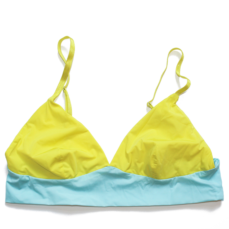 thezoo bralette blue yellow