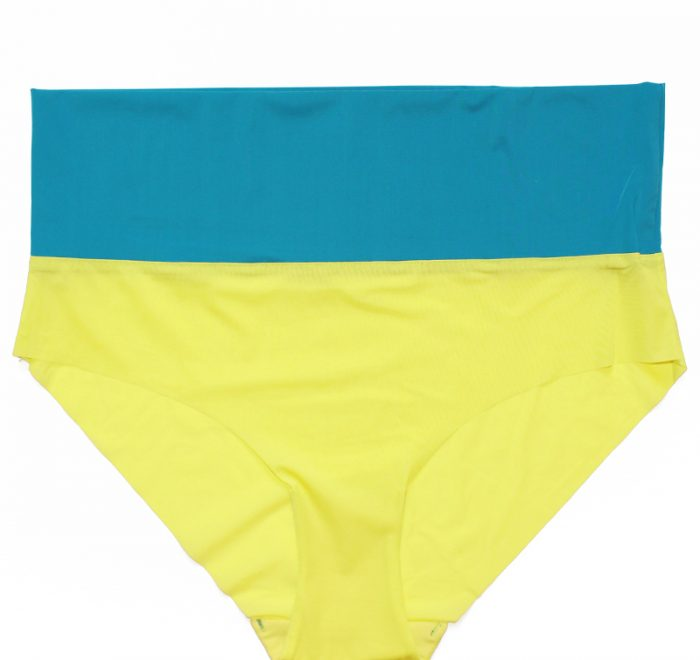 thezoo panty yellow petrol blue