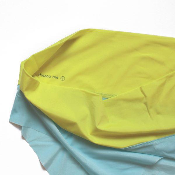 thezoo panty blue yellow
