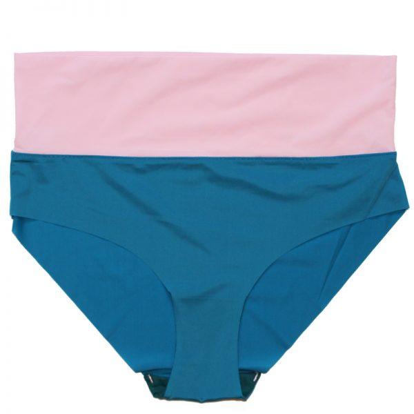 thezoo pant blue petrol rosa