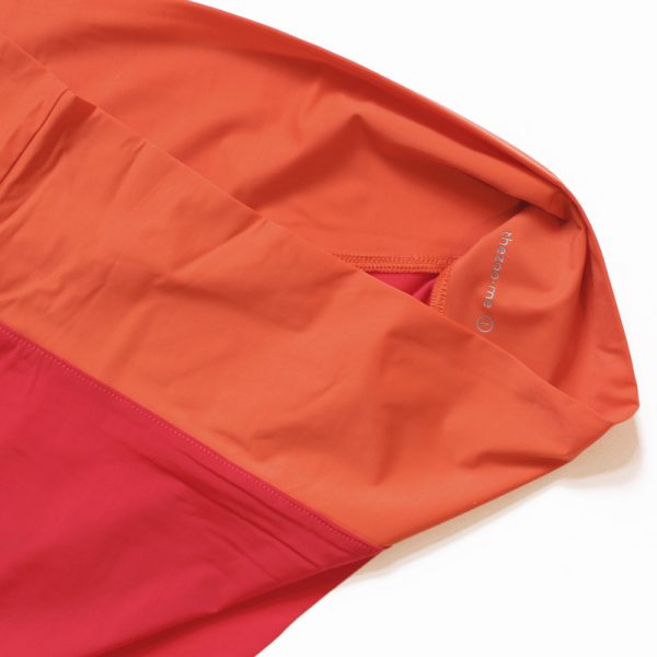 thezoo panty red sunset orange