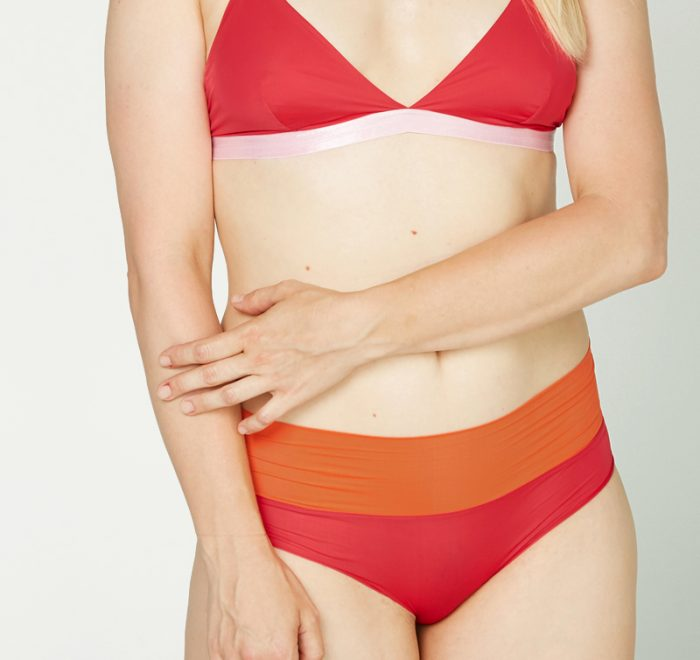 thezoo panty red sunset rot orange