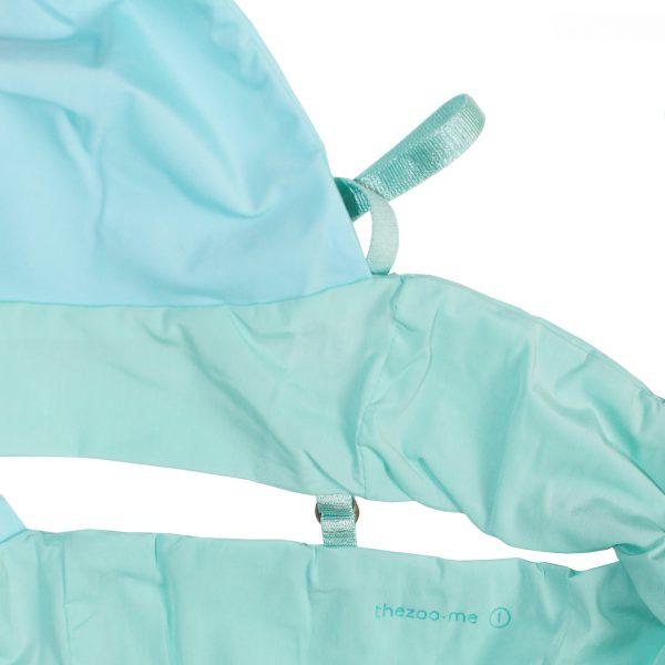 komfortabler bralette mikrofaser blau mint grün