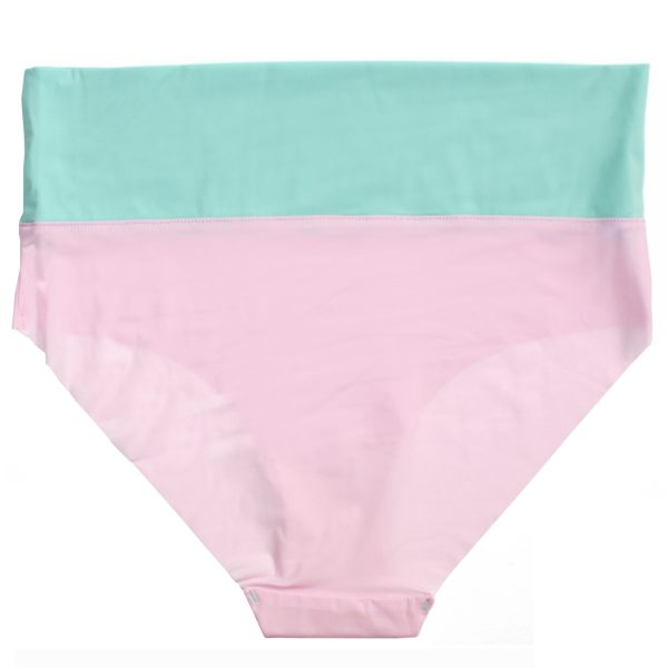 thezoo panty high waist mint green pink