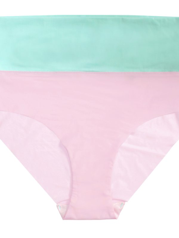 thezoo panty high waist mint green pink