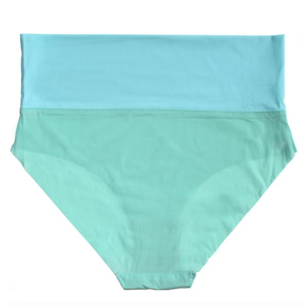 thezoo panty high waist mint green blue