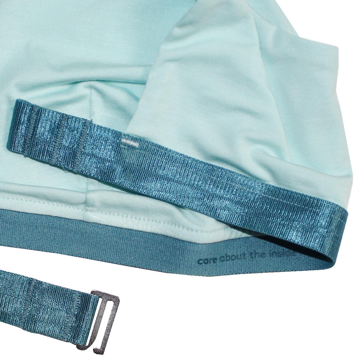 thezoo tshirt bra modal mint