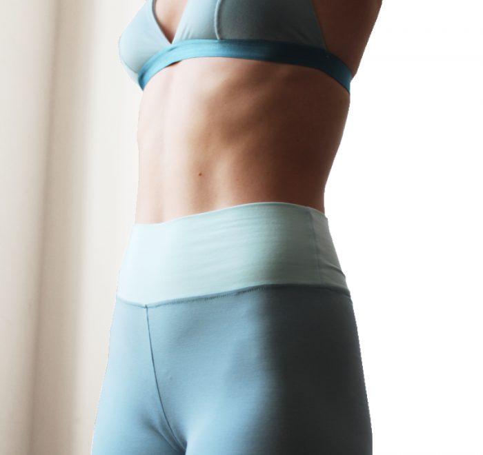 thezoo leggings modal blue