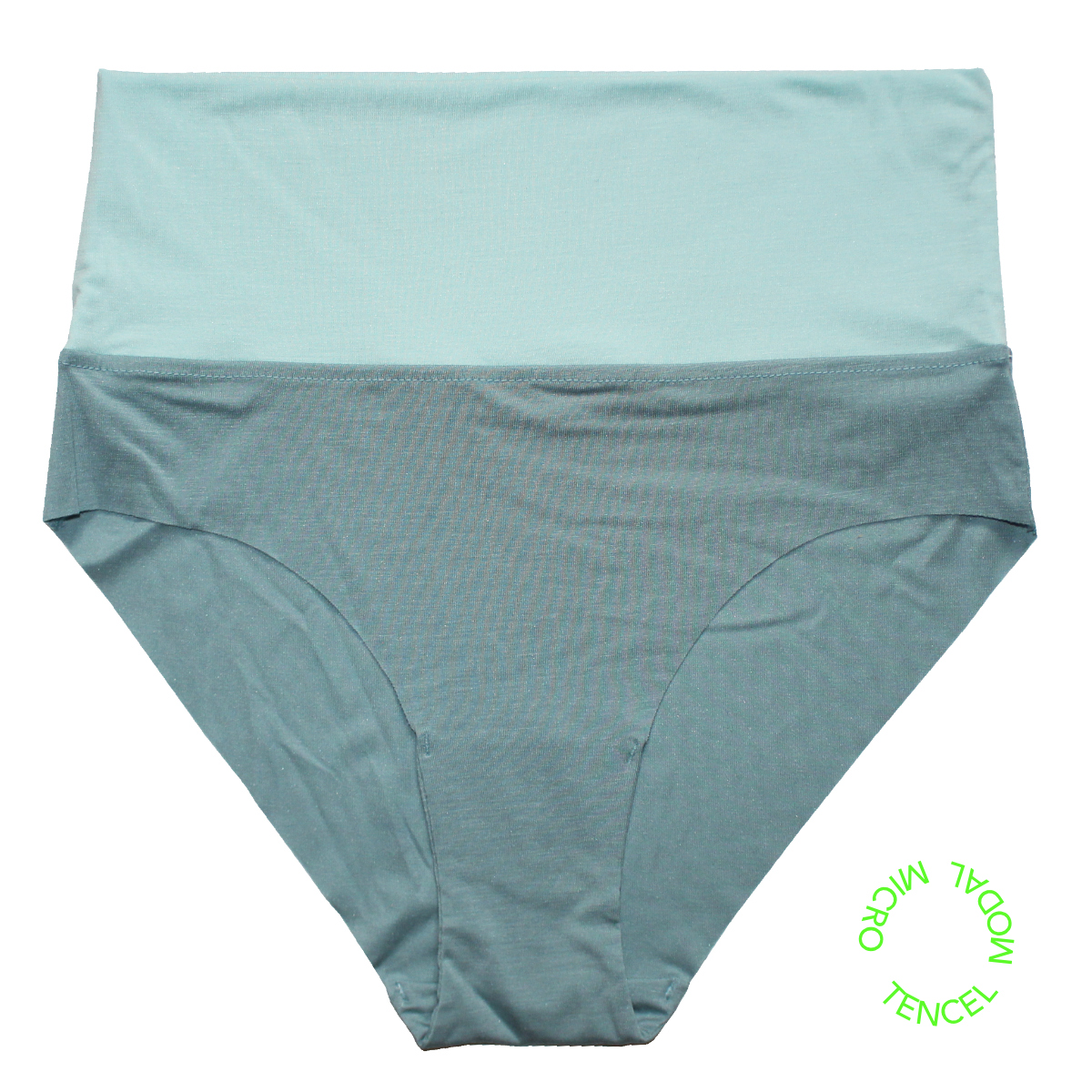 panty stoneblue blue mint green