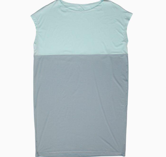 thezoo shirt nightgown modal mint