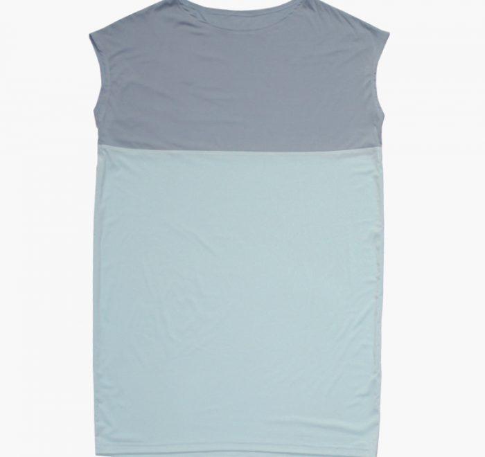 thezoo shirt modal stoneblue